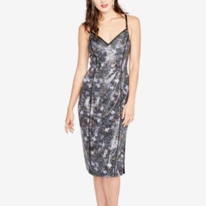 RACHEL Roy Women's Black Multi Sequined Dress